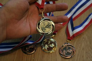 Médailles de la série 1